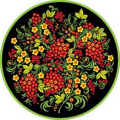Decorative patterns by Leonid Nozdrachov Painting Patterns, Fabric Painting, Art Patterns, Floral Patterns, Russian Folk Art, Russian Painting, Decoupage, China Art, Indigenous Art