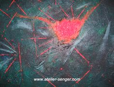 Energie und Kraft, 80 x 60 cm. Bitte hier klicken: www.art-senger.com #malerei #kunst #art #kraft Painting Art, Innovation, Abstract Art, Inspiration, Artist, Artwork, Pictures, News, You're Welcome