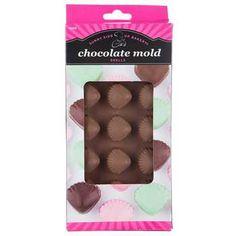 Flexible Shells Candy Mold