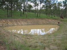 Does your dam or pond look like this? Stop that leak now with WATERSAVE PLUG & SEEPAGE! Works fast & no need to drain your pond, saving you $$$$$$. More info at - www.polymerinnovations.com.au #leaking #earth #dam #pond #water #save #soil #agriculture #farm #crop #vineyard