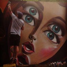 #kunstnernarbeider #stavernfestivalen #grafitti #festivalsommer #aneogbjørnerik - @lineg- #webstagram