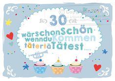 Geburtstag, Lustige Einladung 30. Geburtstag, Witzige Einladung  Dreißigster, Einladungstext Dreißigster, Gestaltung Einladung Dreißigster  Mann Frau
