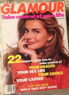 January 1992 cover with Paulina Porizkova