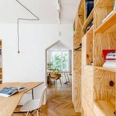 Comment transformer un appartement en un bureau unique, étonnant et stimulant ?