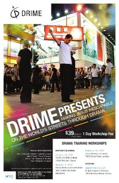 We host Drama Training Workshops to equip others to share their faith in a creative and relevant way. DRIME workshops are ideal for short-term mission teams, youth teams, drama teams, or anyone interested in learning more about creative evangelism.