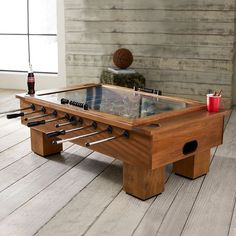 Foosball Coffee Table | PBteen