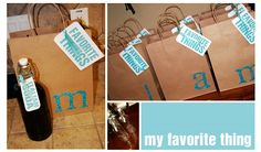 My favorite things party - perfect for a surprise party for your boo, bestie or mom/dad!