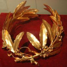 Corona indossata per l'incoronazione ad imperatore dei farncesi
