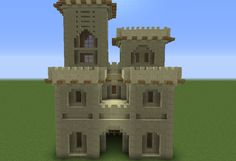 Arabic Desert Castle - GrabCraft - Your number one source for MineCraft buildings, blueprints, tips, ideas, floorplans!