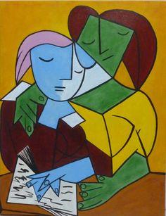 ensayo del gran maestro Picasso