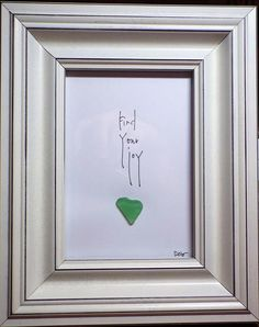Find your joy is an original design featuring a genuine green