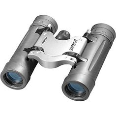 Barska 10x25 Trend Compact Binoculars: 8x21 Trend Compact, Stylish and ergonomic rubber armor with silver accent, contemporary binocular…