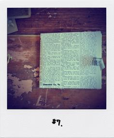 #7. Ps, Projects, Log Projects, Blue Prints, Photo Manipulation