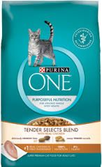 FREE Purina One Chicken Tender Cat Food Sample on http://www.icravefreebies.com/
