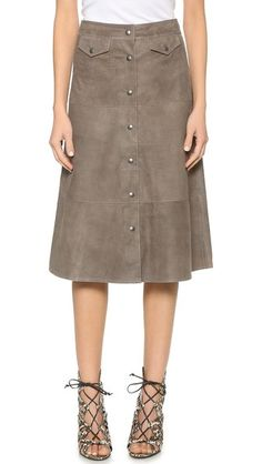 MiH The Suede Skirt