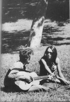 #BobDylan #and #JoanBaez  #music #love