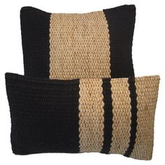 I pinned this 2 Piece Water Hyacinth Cotton Twist Pillow Set in Natural from the Siw Thai Silk event at Joss and Main!