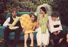 A Family-Central, DIY Backyard Wedding: Adam & Kim