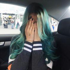 LifewithMelina #bluehair