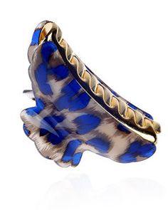 Colorful Leopard Pattern Jaw Clip_Headwear_Accessories_Digbabies