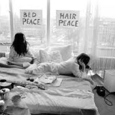 Bed Peace & Hair Peace! John Lennon with Yoko Ono