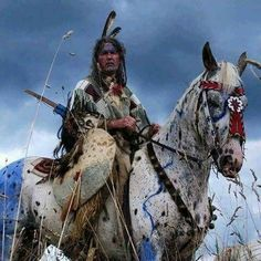 Native American Indian on painted horse Native American Horses, Native American Warrior, Native American Paintings, Native American Wisdom, Native American Pictures, Native American Beauty, American Indian Art, Native American History, Indian Paintings