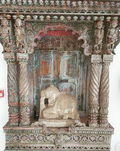 Nandi resting peacefully #decor #collectorsitems #interiordesigners #antique…