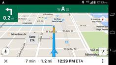 [Interface] Google maps navigation
