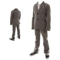 With wedding season right around the corner, cool suits for boys are always a hassle to find. The Dapper Stone Suit from Volcom = Problem Solved!