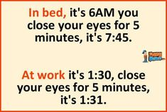Funny Memes – In bed vs at work
