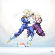 DeviantArt: More Like Dragon Ball - Gohan 82 (Sad) by songohanart Dragon Ball Z, Dragon Ball Image, Gato Anime, Manga Anime, Anime Art, Dbz Characters, Z Arts, Anime Comics, Comic Art