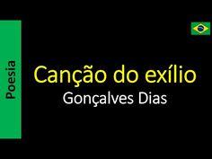 Canção do exílio - Gonçalves Dias    Poema