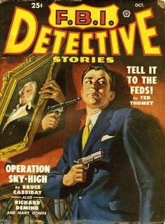 BISH'S BEAT: VINTAGE PULP: FBI DETECTIVE STORIES!