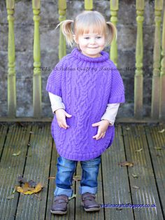 109 Best Children's Ponchos images in 2019 | Knitting for