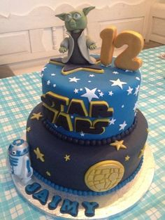 Starwars Cake by TheSweetestThing