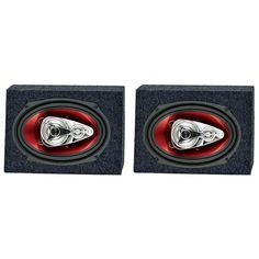 Atrend 6.5 Inch Sealed Car Speaker Box EnclosurePair