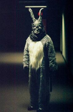 Donnie Darko, just watched this last night, bad ass movie from the 80's with decent music soundtrack