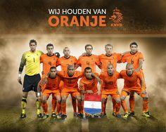 Dutch soccer team [Concept image]