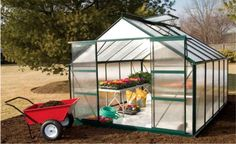 Econo-Gro Greenhouses  The finest Econo-Gro greenhouse for the serious home gardener or small professional nursery. Grow your own organic vegetables — save money and eat healthier. For affordable and stylish greenhouse options call us at 800-531-GROW or visit out website: https://www.gothicarchgreenhouses.com/econo-gro-greenhouses.htm