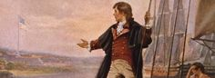 The Washington lawyer was an unlikely candidate to write the national anthem; he was against America's entry into the War of 1812 from the outset Patriots History, Francis Scott Key, Star Spangled Banner, National Review, War Of 1812, Today In History, Confederate Flag, Teaching History, National Anthem