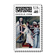 Nuptial Postage Stamp.