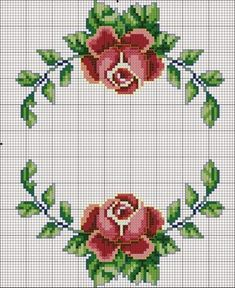 Cross stitch flowers: 45 Models, Graphic and Step-by-step Cross stitch flowers: 45 Models, Graphic and Step-by-step <!-- Begin Yuzo --><!-- without result -->Related Post 'The Eagle' Art Print on Wrapped Canvas Ea. Cross Stitch Rose, Cross Stitch Borders, Cross Stitch Flowers, Cross Stitch Designs, Cross Stitching, Cross Stitch Embroidery, Hand Embroidery, Cross Stitch Patterns, Wedding Embroidery