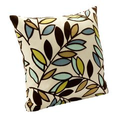 Add a stylish touch to your home decor with this contemporary leaf-patterned throw pillow. A square shape and removable cover highlight this throw pillow. Cricut, Pillows Online, Brown Pillows, Easy Home Decor, Designer Throw Pillows, Baby Clothes Shops, Decorative Throw Pillows, Baby Shop, Bitter