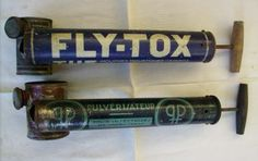 Fly-Tox, at my grandmother's place