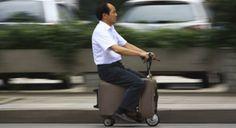 """La """"valise-voiture"""", la dernière invention chinoise"""