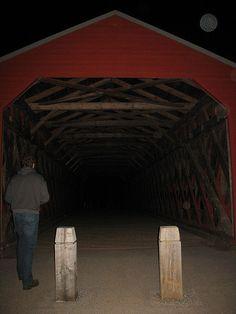 SACH'S BRIDGE ORBS! Orbs @ Sach's Bridge, Gettysburg, PA  Ghost hunting 4/9/09 by nikoretro, via Flickr