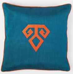 bohemtolia Kutnu Silk Pillow with Embroidery - Fertility Turquoise Authentic Silk Cushion anadolu Kilim Pillows, Cushions, Textile Prints, Textiles, Silk Pillow, Vertical Stripes, Fertility, Bunt, Boho Fashion