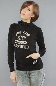 crooks and castles | Crooks and Castles The Certified Hoodie in Black hood ,Sweatshirts for ...