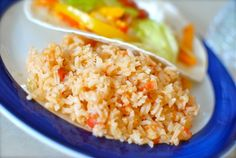 Mexican Rice. This is really good!