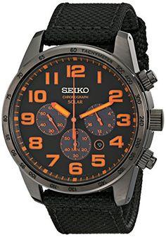 Seiko Men's SSC233 Sport Solar Analog Display Japanese Quartz Brown Watch Seiko $145.78 http://www.amazon.com/gp/product/B00I1LIYFS/ref=as_li_tl?ie=UTF8&camp=1789&creative=390957&creativeASIN=B00I1LIYFS&linkCode=as2&tag=candytiger-20&linkId=JIEKRF5HWII4HO3Y